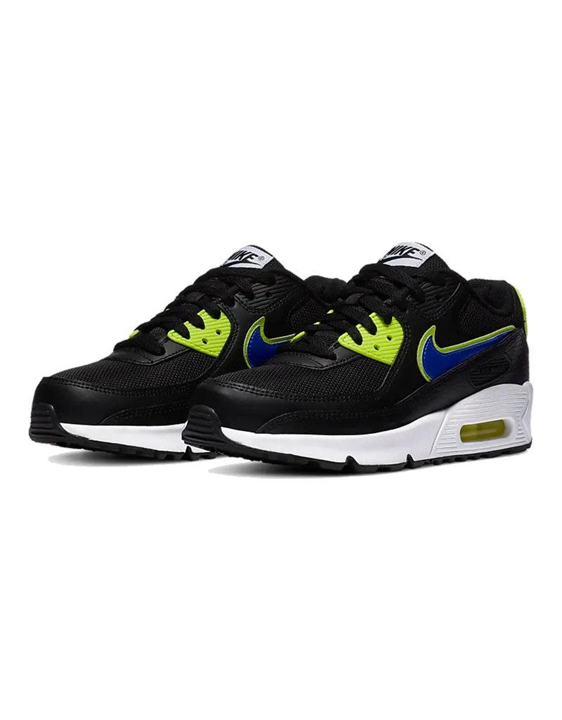 Nike Nike Air Max 90 GS 'Black Volt/Racer Blue'