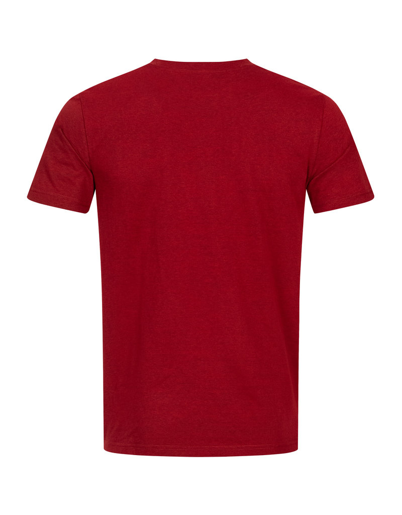 Lonsdale Lonsdale T-Shirt 'Waddon' (Marl Red/Black/White)