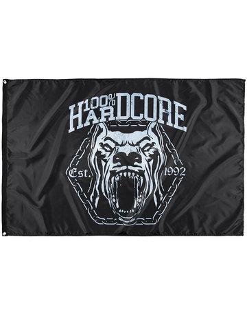 100% Hardcore 100% Hardcore Fahne 'Dog*2'
