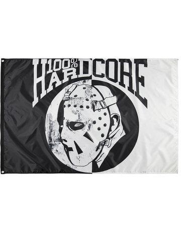 100% Hardcore 100% Hardcore Fahne 'Hockey Mask'