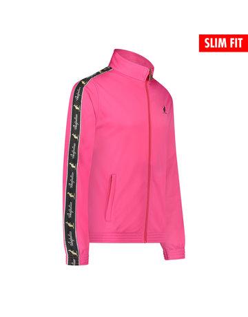 Australian Australian Uni Fit Trainingsjacke mit Streifen (Fuxia/Black)