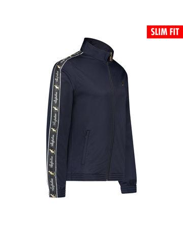 Australian Australian Uni Fit Track Jacket with tape (Navy/Black)