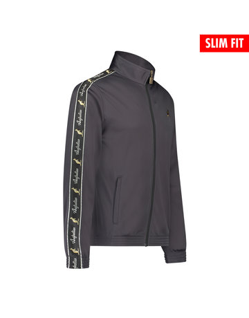 Australian Australian Uni Fit Track Jacket with tape (Titanium Grey/Black)