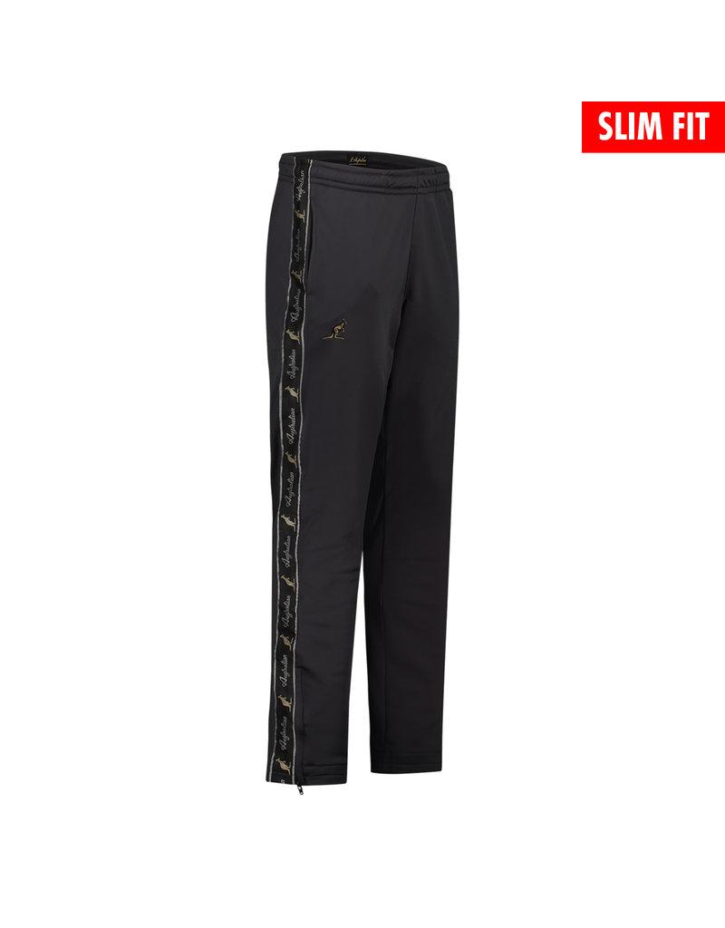 Australian Australian Fit Track Pants with tape (Black/Black)