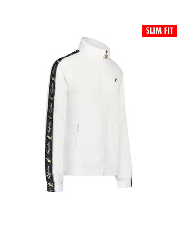 Australian Australian Uni Fit Trainingsjacke mit Streifen (White/Black)