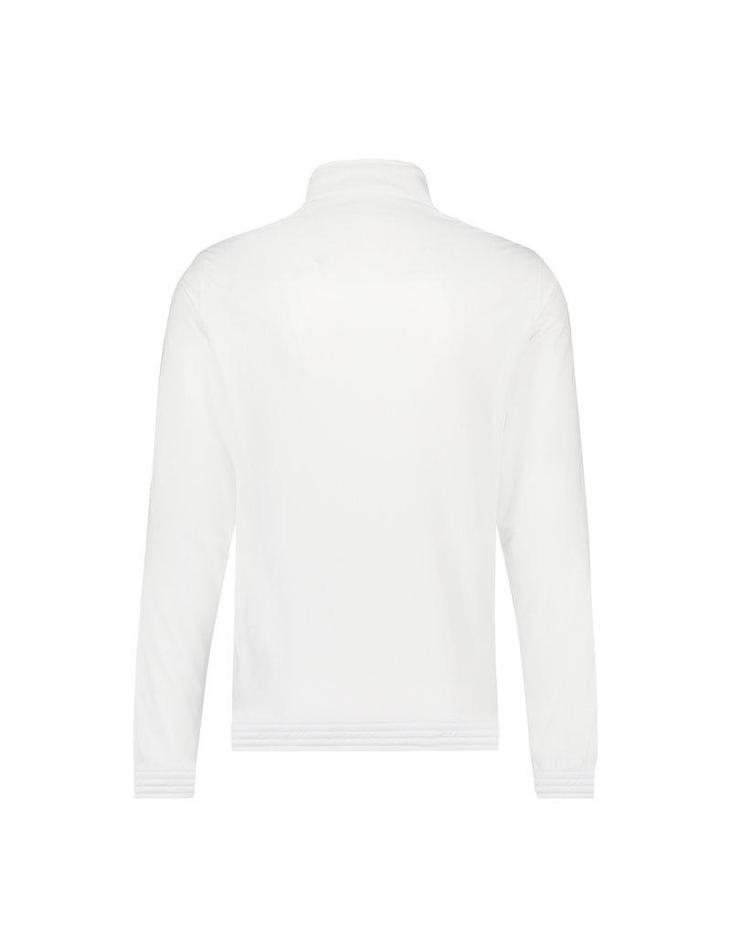 Australian Australian Uni Fit Track Jacket with tape (White/Black)