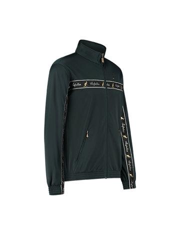 Australian Australian Uni Track Jacket with tape (Woods Green/Black)