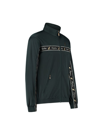 Australian Australian Uni Trainingsjacke mit Streifen (Woods Green/Black)