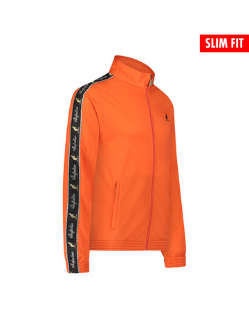 Australian Australian Uni Fit Trainingsjacke mit Streifen (Lava/Black)