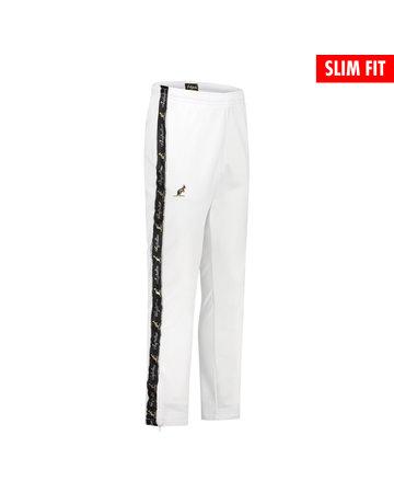 Australian Australian Fit Track Pants with tape (White/Black)