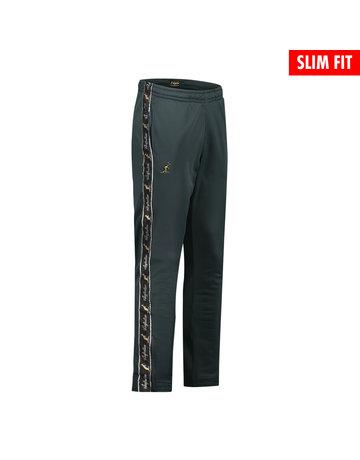 Australian Australian Fit Track Pants with tape (Woods Green/Black)