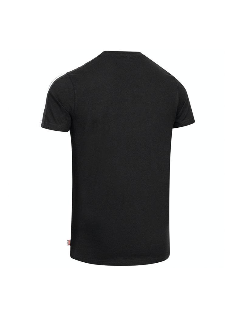 Lonsdale Lonsdale T-Shirt Slim-Fit 'Bulverhythe' (Black/White/Grey)