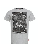 Lonsdale Lonsdale T-Shirt 'Storth' (Marl Grey)