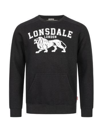 Lonsdale Lonsdale Herren Rundhals Sweatshirt schmale Passform 'Kersbrook'