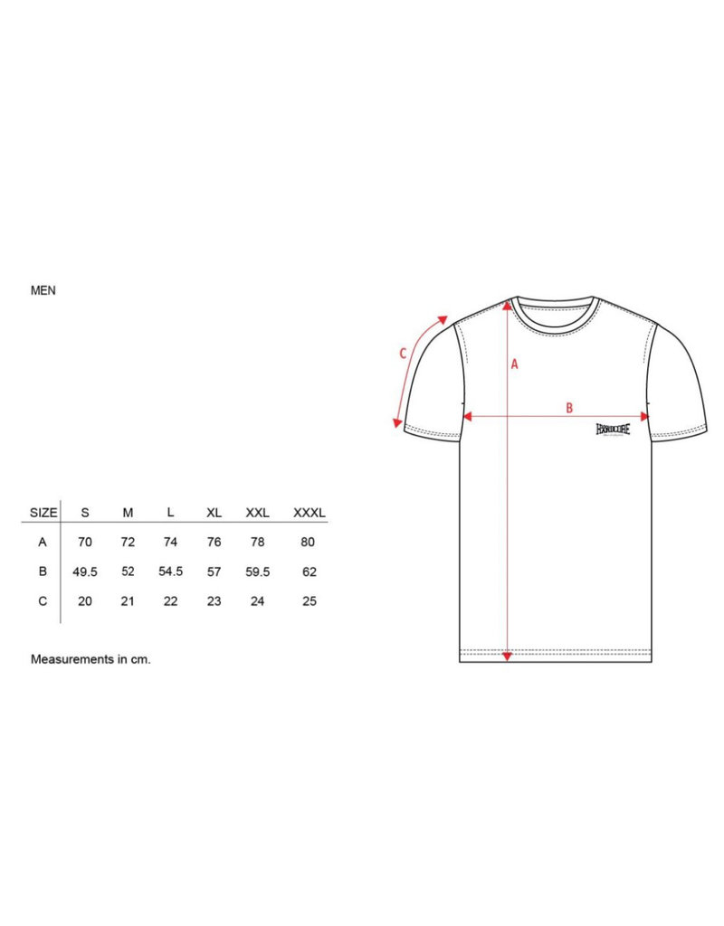 100% Hardcore 100% Hardcore T-shirt 'Classic'