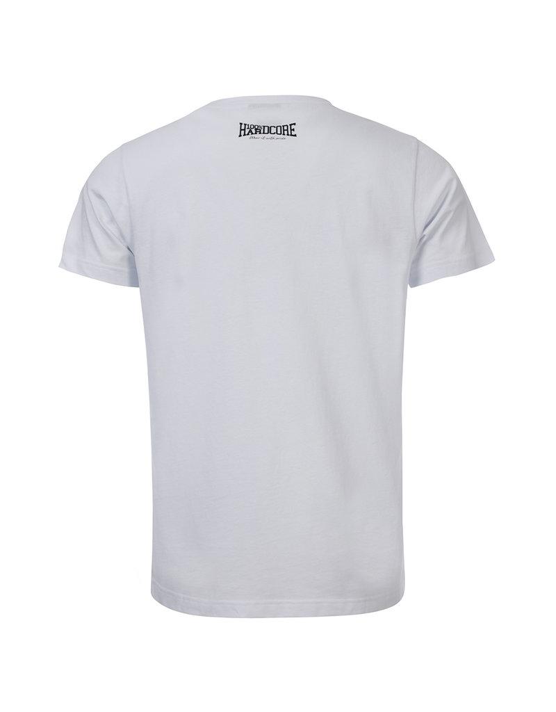 100% Hardcore 100% Hardcore T-shirt 'The Brand' White