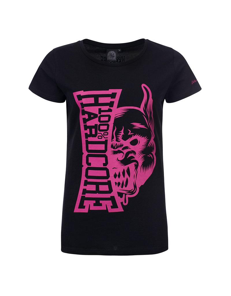 100% Hardcore 100% Hardcore Dames T-shirt 'Rage'