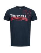 Lonsdale Lonsdale T-Shirt 'Melplash' (Navy/Red)