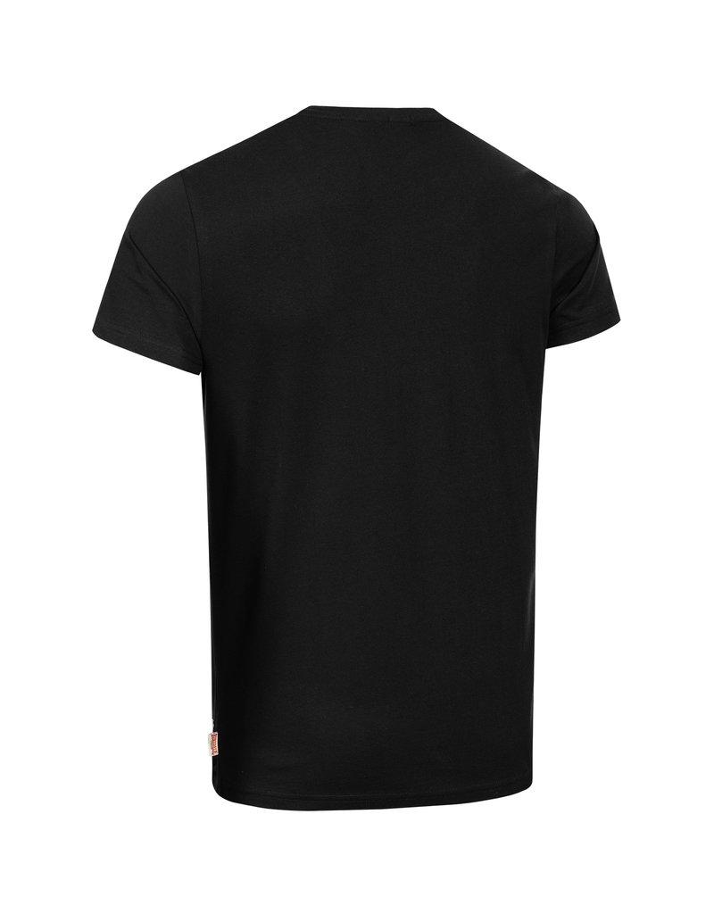 Lonsdale Lonsdale T-Shirt 'Symondsbury' (Black/Grey)