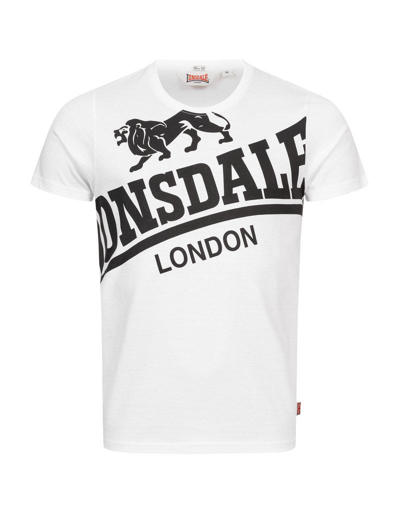 Lonsdale Lonsdale T-Shirt 'Symondsbury' (White/Black)