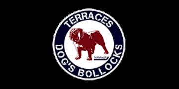 Terraces dog's bollocks