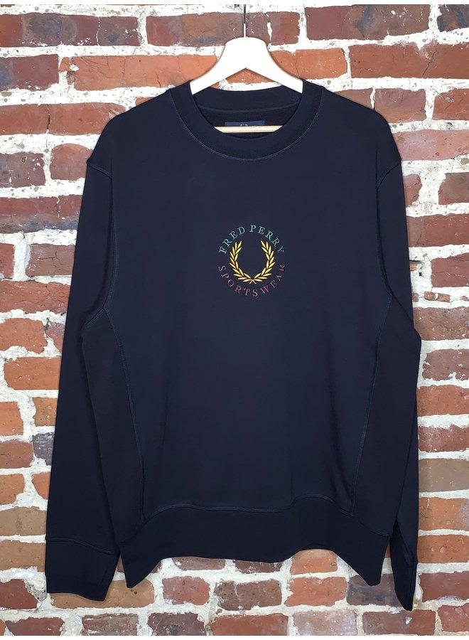 Global branded sweatshirt