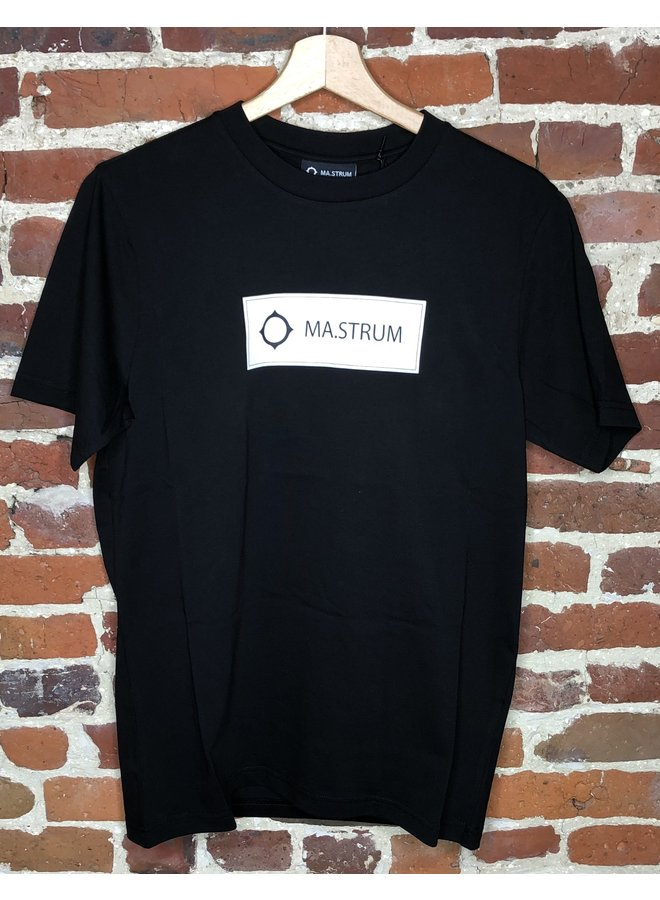 Icon box logo tee black