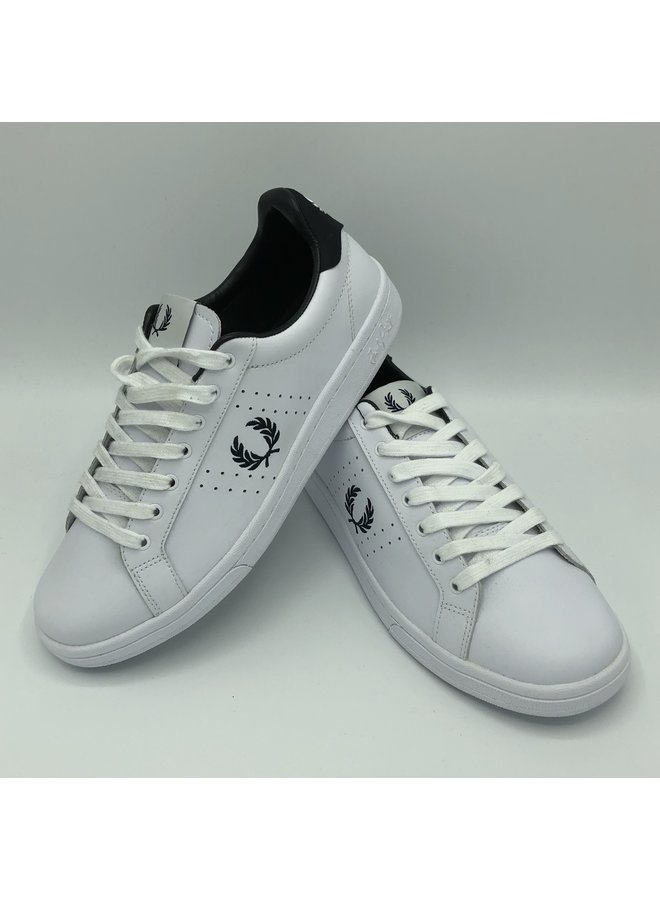 Baskets fred perry  white/black