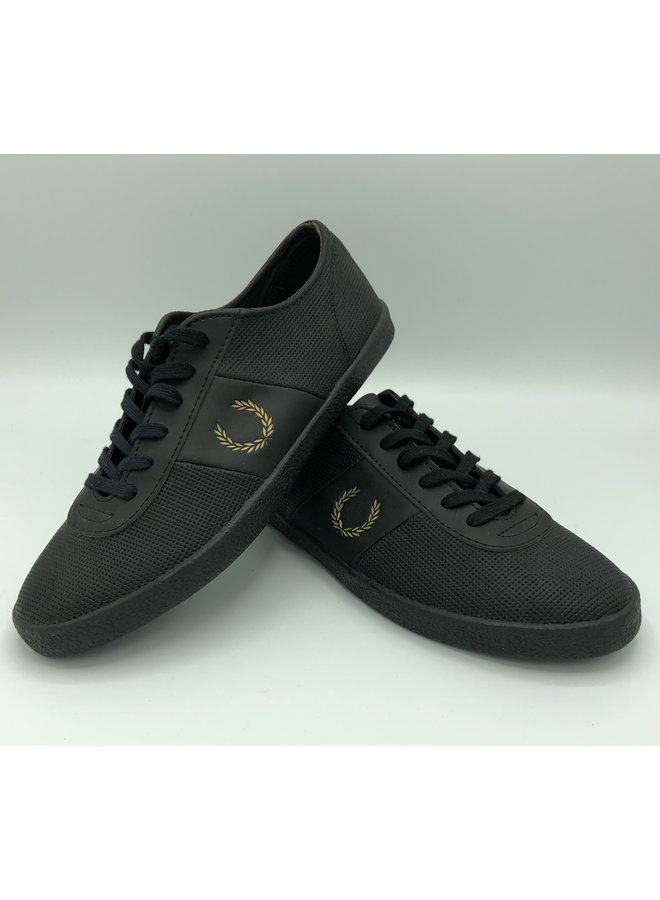 Baskets fred perry black
