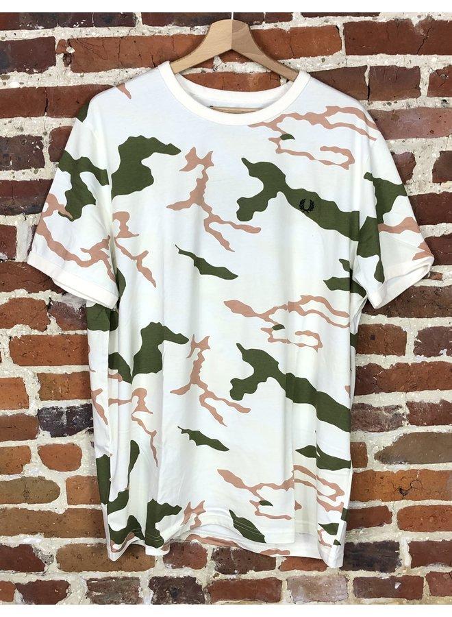 Camouflage t-shirt tundra camo ( XL )