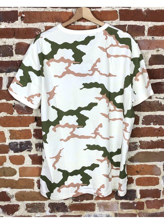 Camouflage t-shirt tundra camo