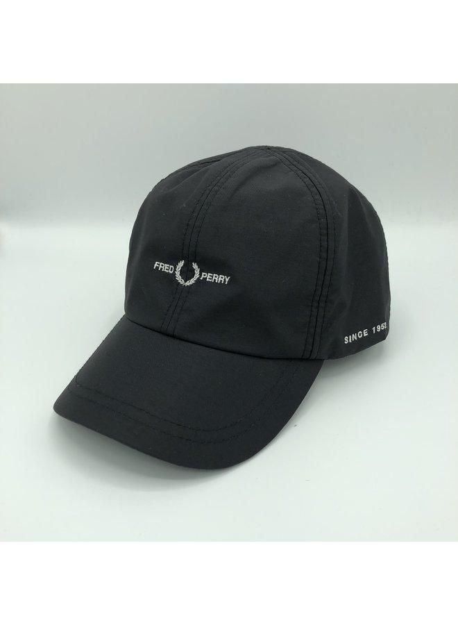 Sport twill cap black
