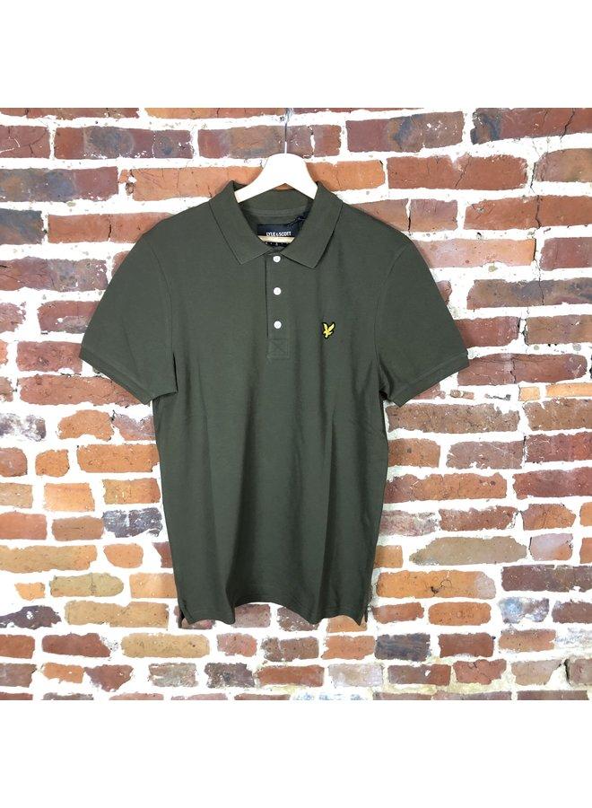 Polo shirt treck green