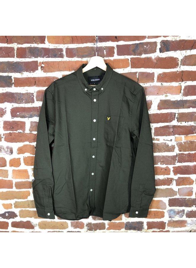 Oxford shirt trek green