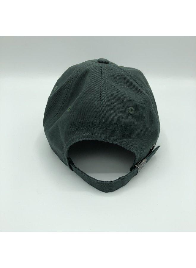 Baseball cap jade green