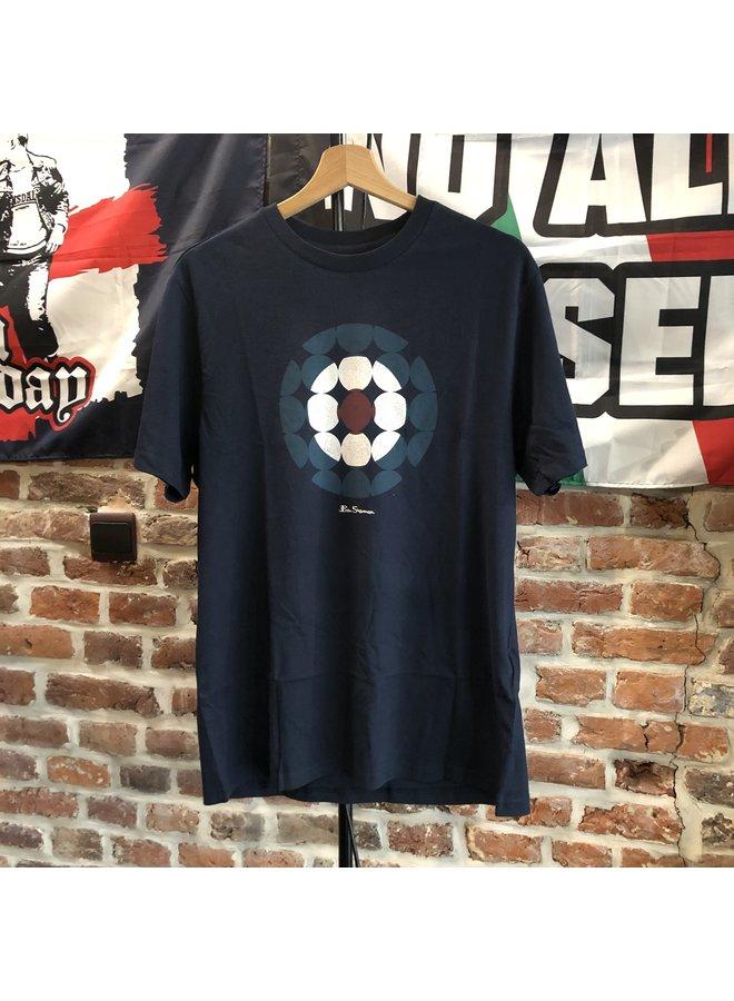 T-shirt Bensherman cible dark navy