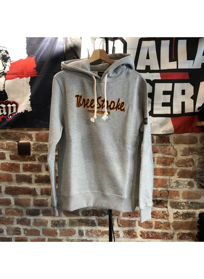 The classic hoodie  grey