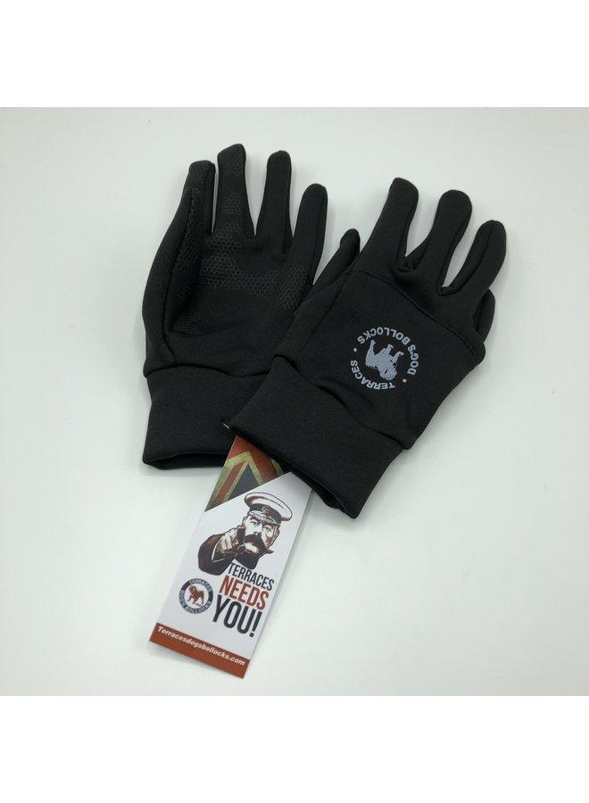 Warm glove black