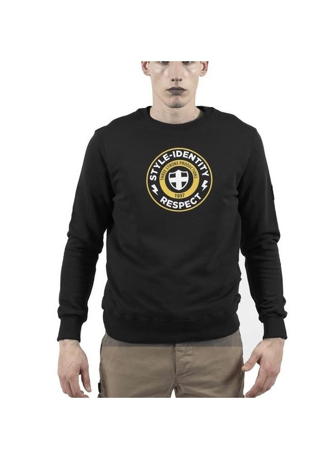 Style identity sweatshirt black