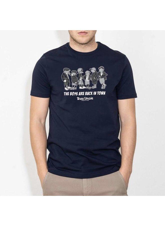 Boys t-shirt navy