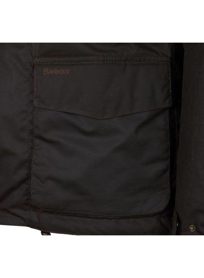 Barbour grendle wax jacket. Olive
