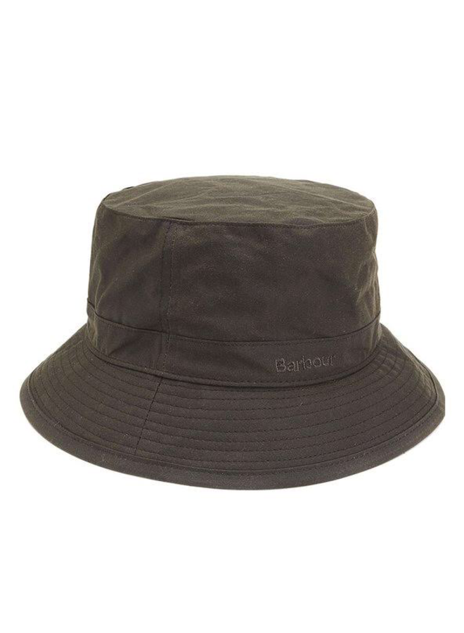 Barbour wax sports hat olive