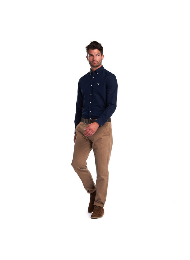 Barbour oxford 3 tailored.  Navy