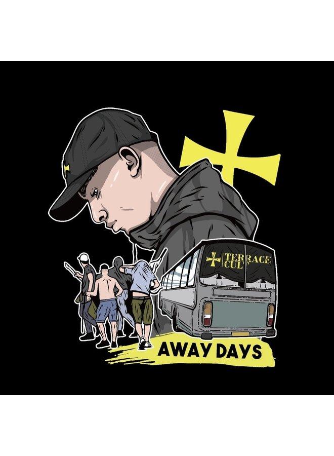 Away day tee black