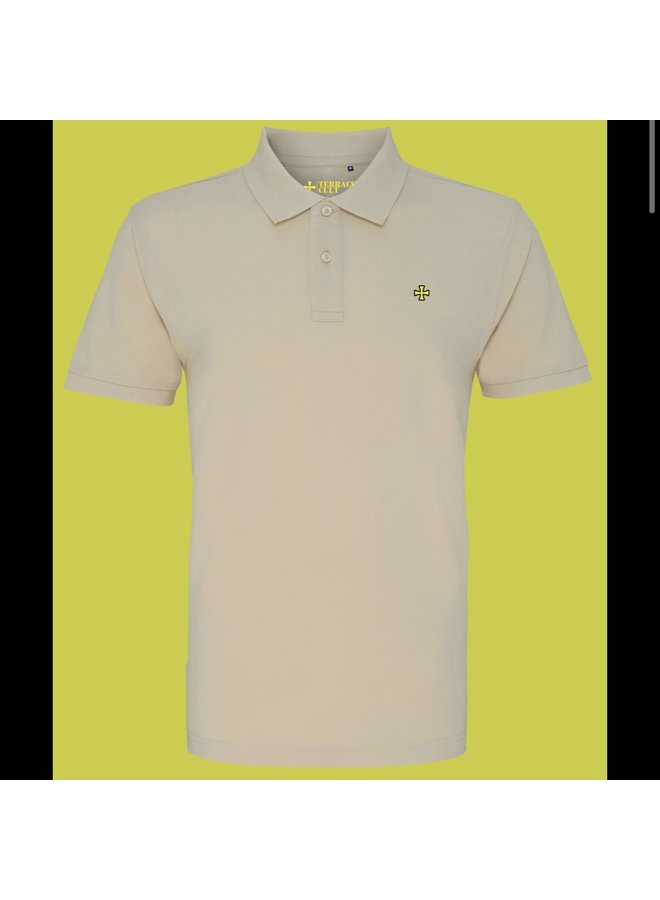 Cult x polo beige