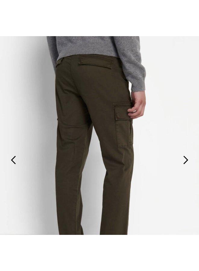Cargo trouser trek green
