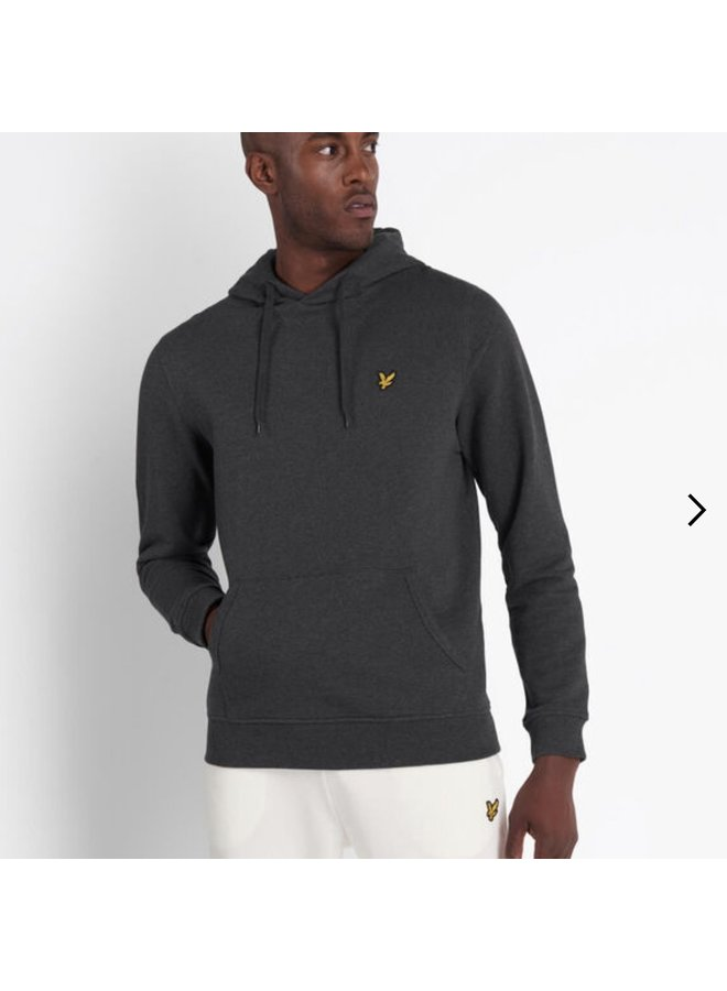Pullover hoodie charcoal marl