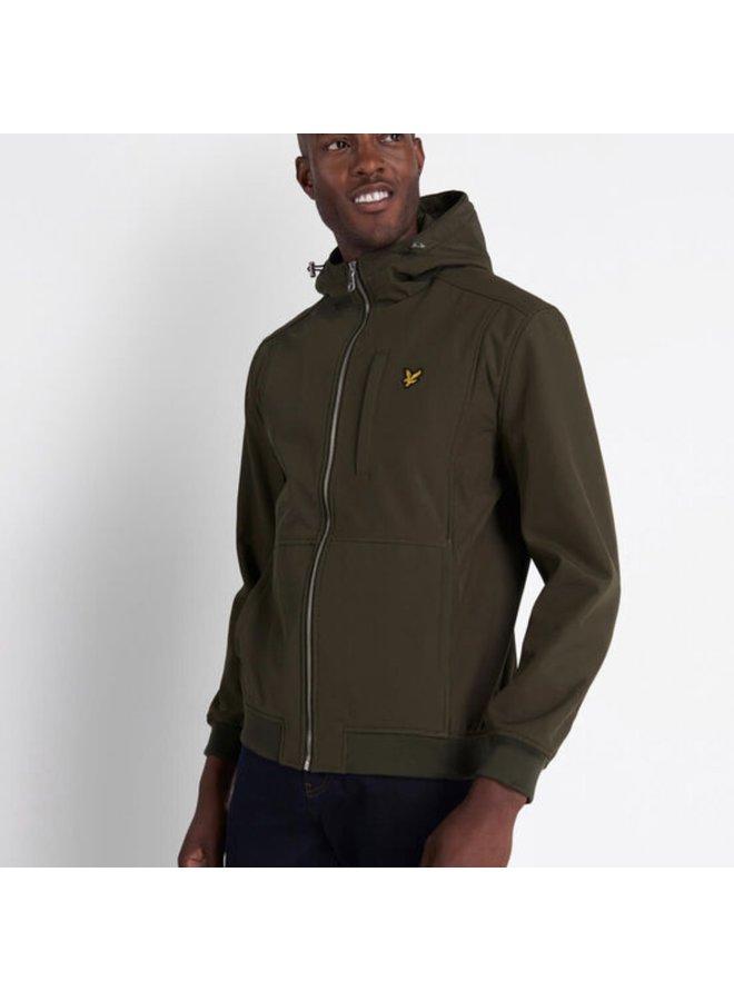 Softshell jacket khaki