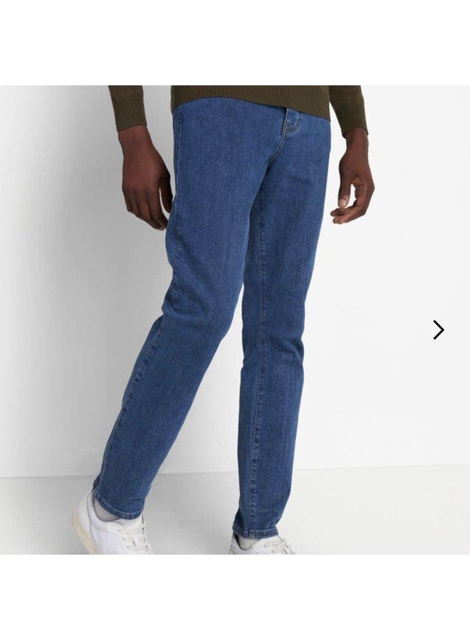 Slim fit jean mid wash