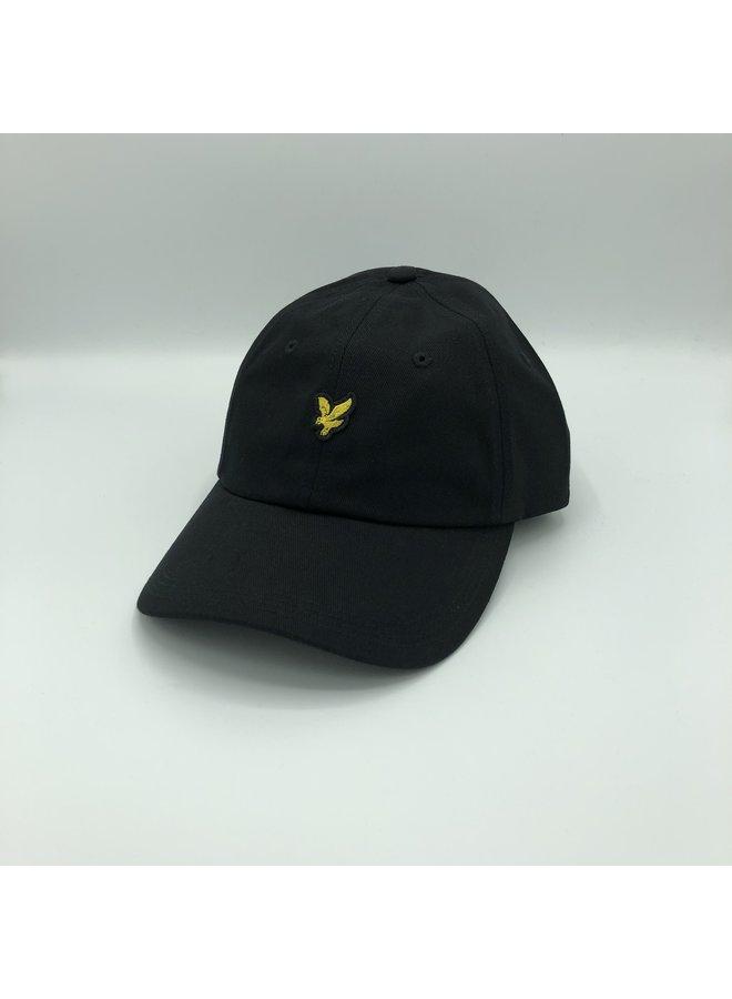 Baseball cap true black
